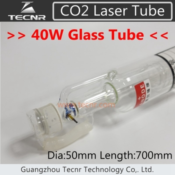 40 W CO2 Cam Lazer Tüp için 700 MM CO2 Lazer Oyma Kesme Makinesi