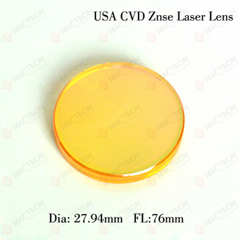 27.94mm Dia. 76mm FL Lazer Lens Co2 1.1 inç